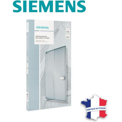 Porte transparente pour tableau électrique 3 rangées - SIEMENS