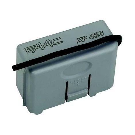 R/écepteur embrochable faac xf433 319006