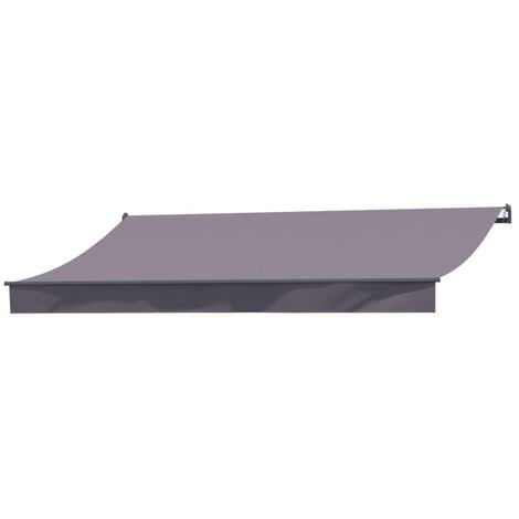Adro - Store banne taupe 3m x 2m