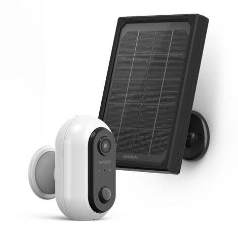 Avidsen - Caméra extérieure solaire - AvidsenHome Outdoor HomeCam Battery -