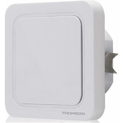 Interrupteur récepteur télécommandé pour éclairage intérieur - 1 interrupteur 2 en 1