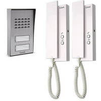 Interphone audio collectif pour 2 appartements - extensible à 4 - Extel Multipro 3