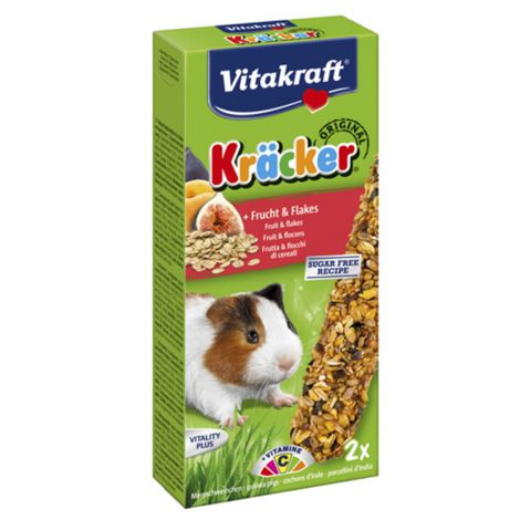 Kräcker Fruit & flocons Cochons d'Inde Vitakraft