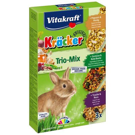 Kräcker Trio-Mix Lapins nains Vitakraft