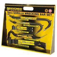 Roughneck 64961 5 Piece Gorilla Bar Set