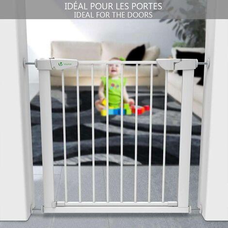 Home Baby Porte De Sécurité Pet Chien Barrière d/'escalier porte coffre Sécurisé Guard 70x76cm