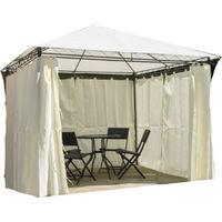Super heavy 3m x 3m duty curtain sided gazebo
