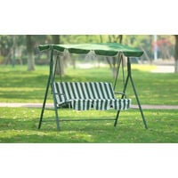 LED Garden Swing Seat with Canopy