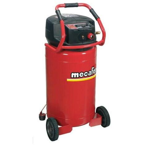 MECAFER Compresseur sans huile 100 L 2,5HP Vertical Century