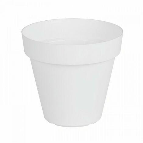 ARTEVASI Pot de fleurs Capri - 50 cm - Blanc