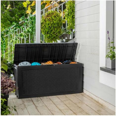 Coffre de jardin - Samoa 270L anthracite
