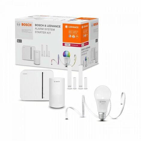 LEDVANCE x BOSCH Kit connecté Systeme d'alarme pour la maison