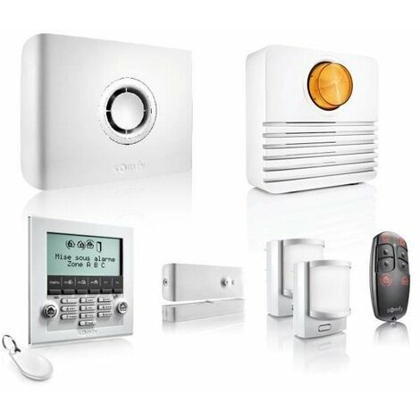 SOMFY Pack alarme maison Protexiom Ultimate GSM connectée sans fil