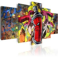 Tableau - Angry spray can 100x50