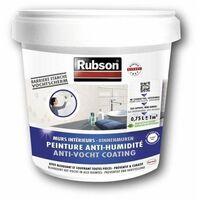 RUBSON Peinture Anti-Humidité Interieure Blanc 0.75L