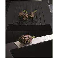 EWI Evier cuisine a encastrer 2 bacs + 1 égouttoir Soledad - Résine - 116 x 50 cm - Noir