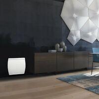 NOIROT EXCELLENCE - Radiateur a Chaleur Douce Intégrale CDI - Horizontal 1000W - Blanc - Fabrication Française - Programmable