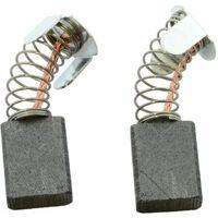 Remplace les pi/èces dorigine 627036 cable et connecteur ressort Balais de Charbon Buildalot Specialty ca-17-36912 pour Protool Meuleuse 633406-5x10x17mm Avec Arr/êt automatique