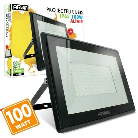 """main image of """"Projecteur LED 100W 8500 Lumens IP65   Température de Couleur: Blanc neutre 4000K"""""""