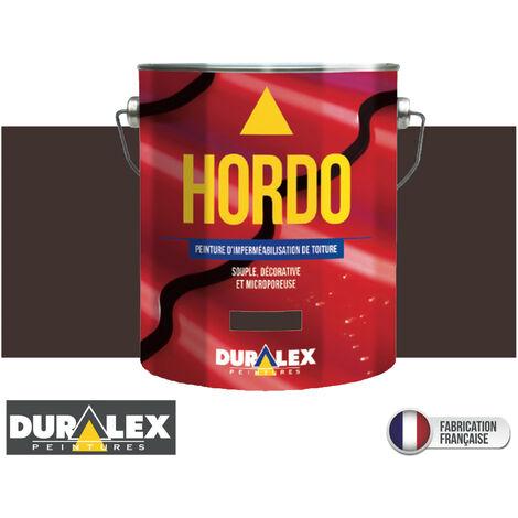 Peinture Toiture Renovation Impermeabilisation BRUN - DURALEX - 3 litres - BRUN