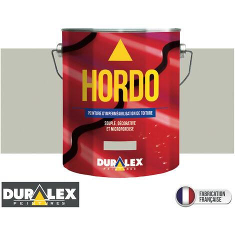 Peinture Toiture Renovation Impermeabilisation GRIS - DURALEX - 3 litres - GRIS - Gris clair