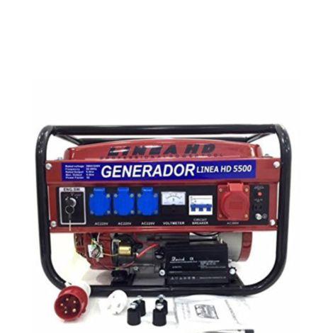 Generador De Corriente Arranque Llave Hd5500Ks