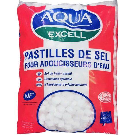 Pastilles de sel pour adoucisseur d'eau RESIMAX EXCELL - le sac de 25 kg