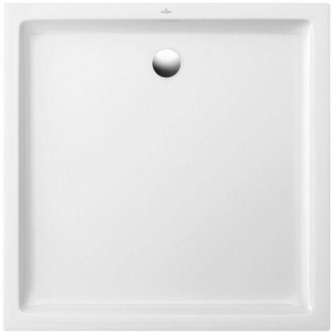 Receveur O.NOVO PLUS antidérapant extra plat - Dimensions : 80 x 80 cm - Couleur : BLANC