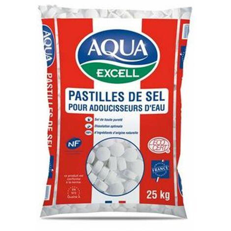 Pastilles de sel pour adoucisseur d'eau RESIMAX EXCELL - le sac de 15 kg