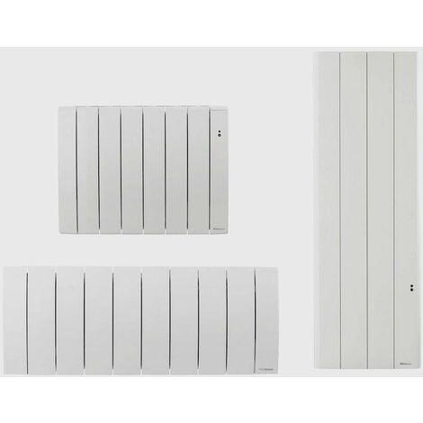 Radiateur électrique à inertie BILBAO 3 - Horizontal - Puissance : 1500 W - L : 1070 x H : 590 x E 130 mm