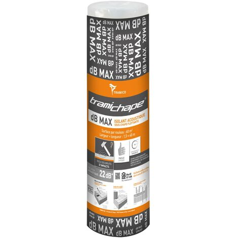 Tramichape dB MAX PRO 21 - Blanc - 1 mètre linéaire