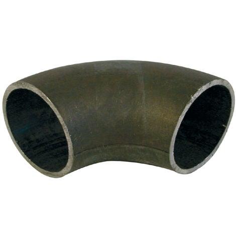 Courbes 3d 90° en acier à souder - Noir / Tube Ø ext. : 42,4