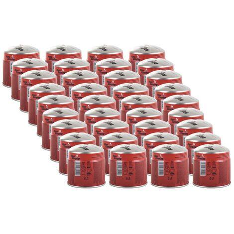 Pack 36 cartouches gaz 190g ALPENTECH Butane Propane perçable sécurité stop-gaz