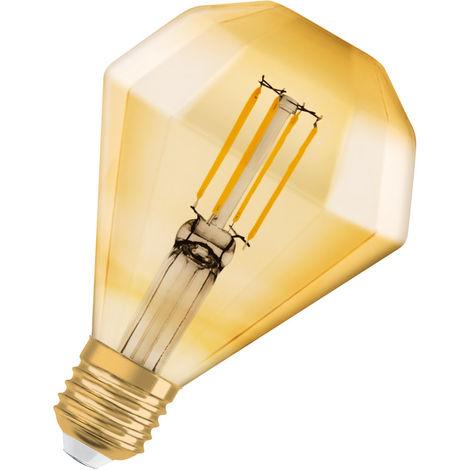 Lámpara VINTAGE 1906 E27 4,5W 420lm DIAMOND 2500K 15000h LEDVANCE 4058075091955