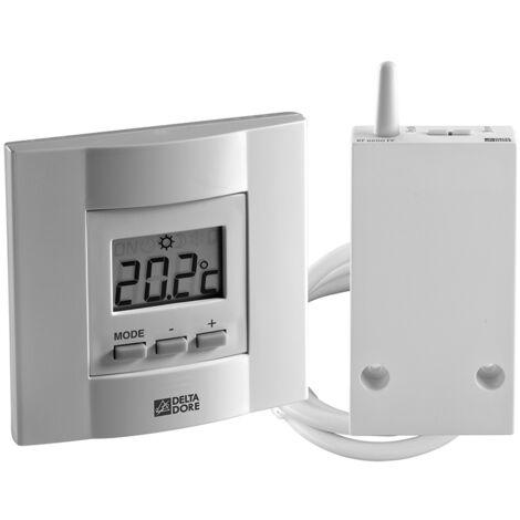 Termostato radio para calefacción - Ajustes por teclas DELTA DORE 6053035