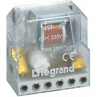 TELERRUPTOR 2P 10A LEGRAND 049167