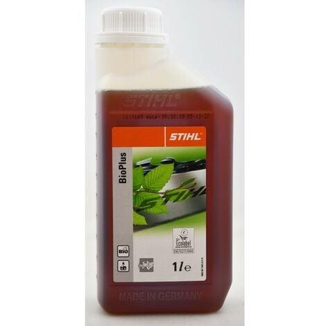 STIHL BioPlus 07815163001 Sägeketten-HaftölPlus 1Liter Kettenhaftöl