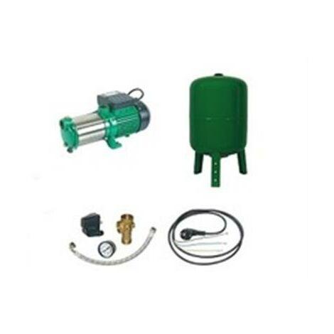 Surpresseur en Kit Pompe Multicellulaire 2300 W Réservoir vertical 100 L
