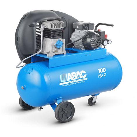 Compresseur d'air 100L 2CV ABAC A29 100 CM2