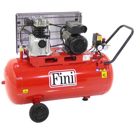Compresseur d'air 90L 2CV FINI MK 102-90-2M