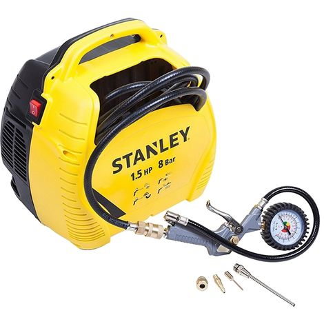 Compresseur d'air portatif 1,5CV Stanley Air Kit
