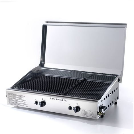 Barbecue gaz planque double Ompagrill 4069 / Cover / M