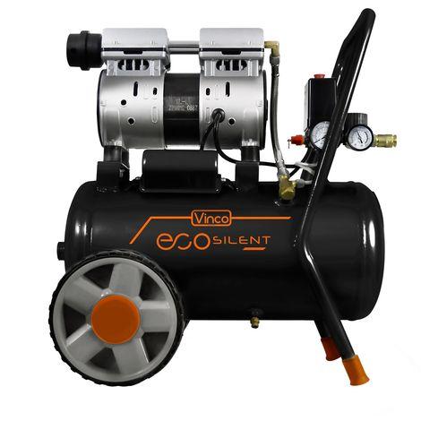 Compresseur d'air super silencieux Vinco 24 lt KWU750-24L