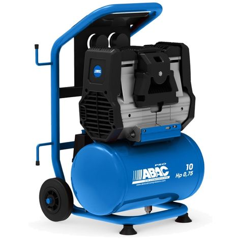 Compresseur Abac Silverstone OS7P silencieux 10 litres 0.75Hp