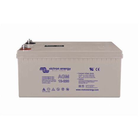 BATTERIE VICTRON ENERGY AGM DEEP CYCLE 12V 220Ah