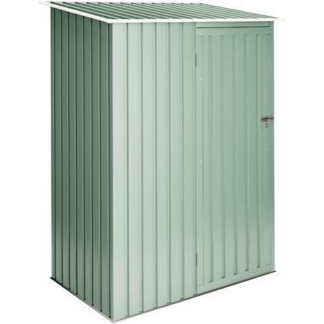 Armario metal Light Green 1.32m2 - Garantía 10 años - 142x93x186cm