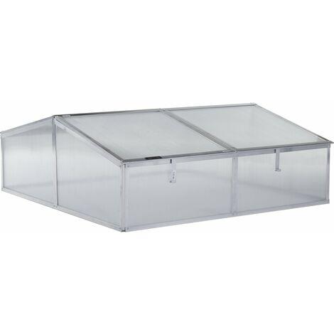 Mini invernadero en policarbonato para jardín o balcón Rosa - 1.19 m²