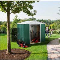 Caseta de metal para jardín ROSAS 2,71 m²
