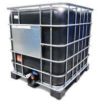 Contenedor / Depósito 1000 litros NEGRO (Palet Plástico)