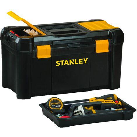 Caisse à outils plastique 40.6x20.5x19.5 cm